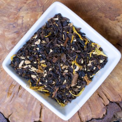 Ginger Peach Oolong tea